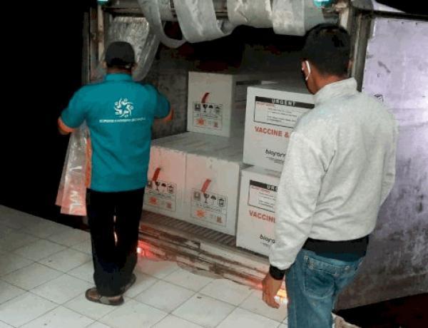Vaksin Covid-19 Asal China Sudah Tiba di lampung