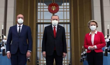 Tiga Jam Bertemu Erdogan, Uni Eropa Siap Perkuat Kerja Sama Ekonomi Dan Imigrasi